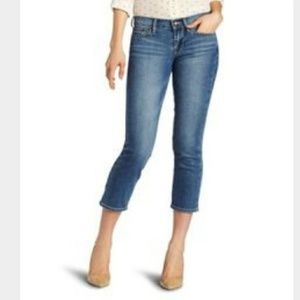Lucky Brand sweet and cropped jeans